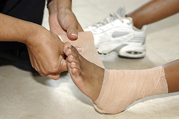 ankle sprain treatment in the Arlington, TX 76013 area